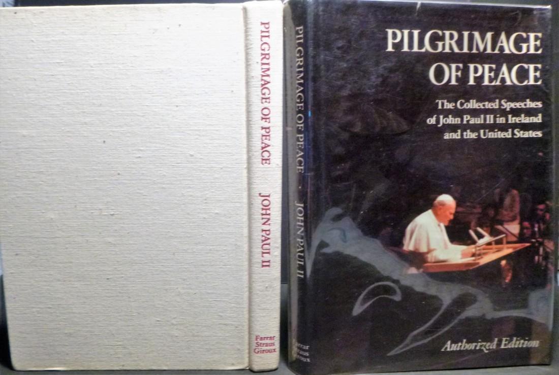 Pilgrimage of Peace - Signed Pope John Paulll