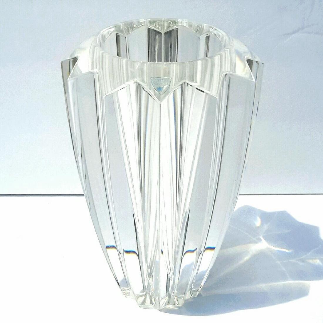 Vintage Orrefors Sweden Erika Lagerbielke Crystal Vase