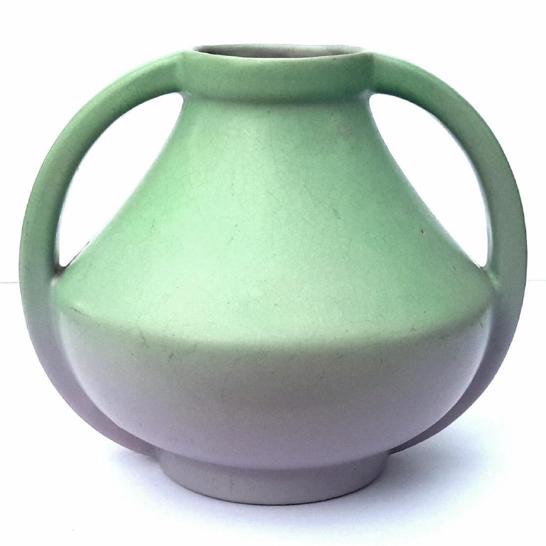 Art Deco Coors Colorado Matte Pottery Vase, Circa 1930