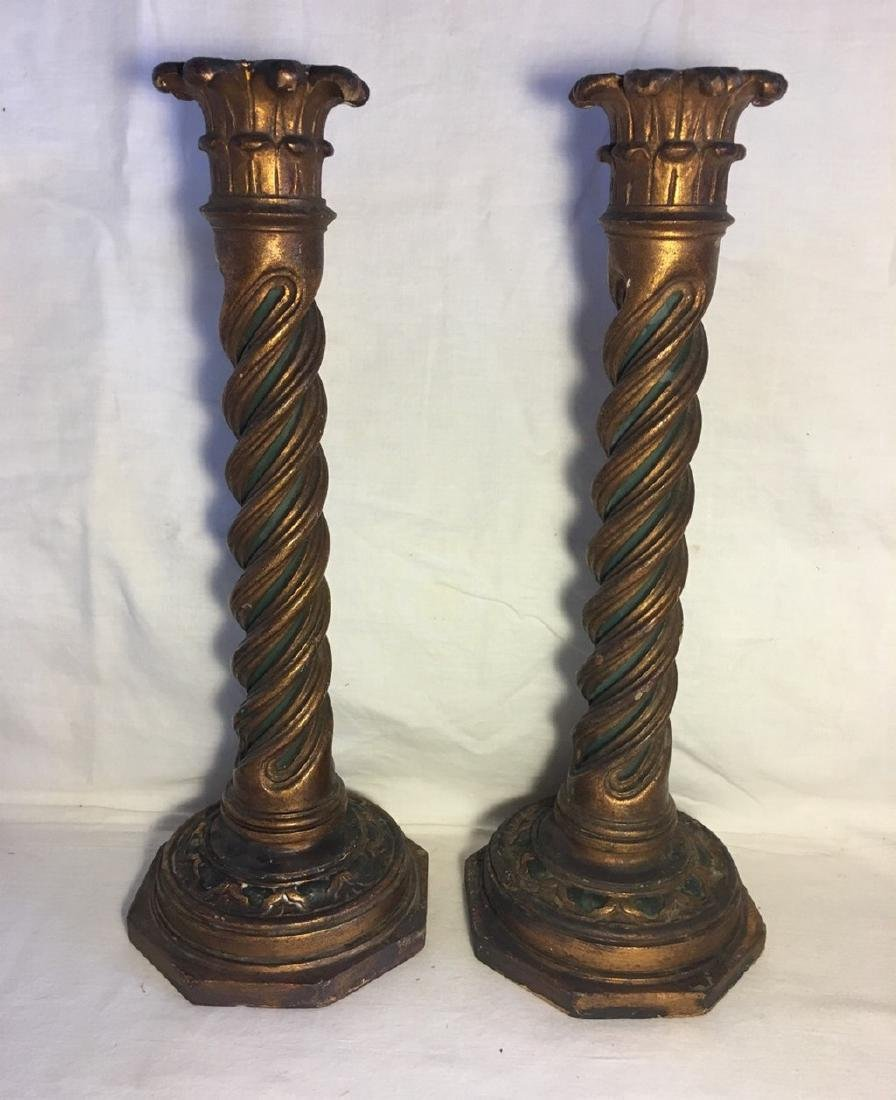 Pair of Venetian Style Candlesticks c. 1920