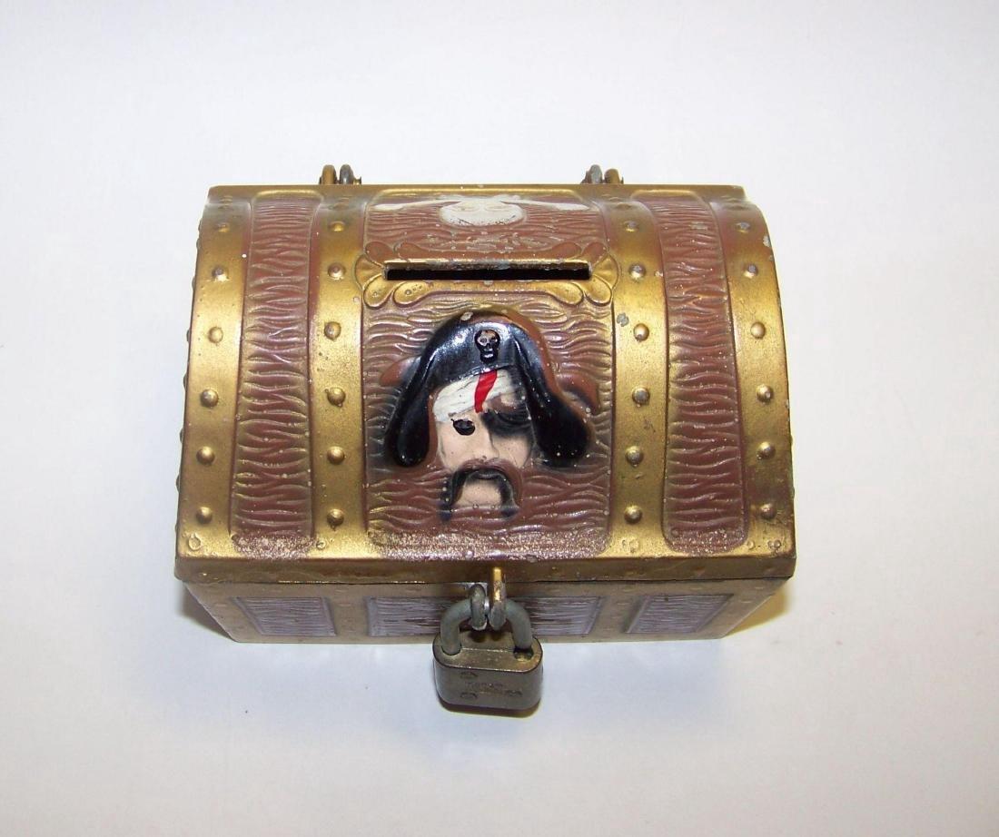 Vintage E.J. Kahn Company Metal Still Coin Bank - 2