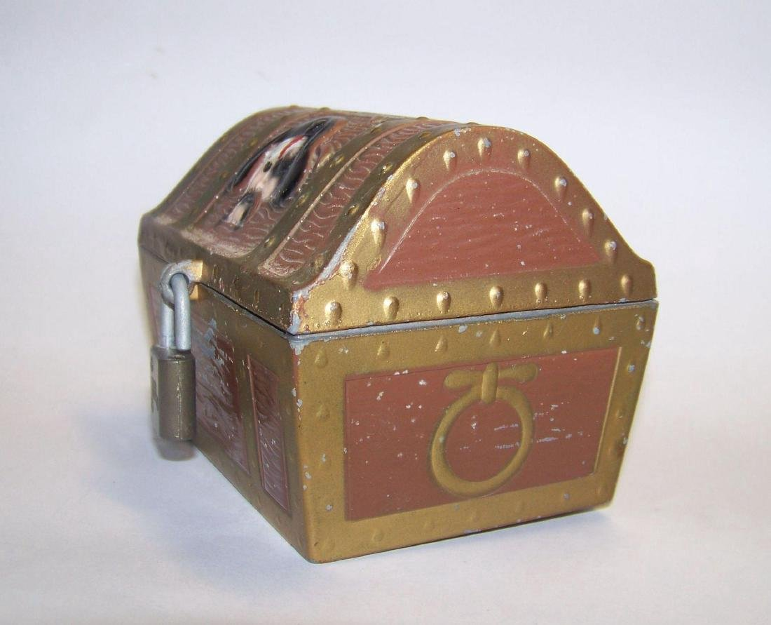 Vintage E.J. Kahn Company Metal Still Coin Bank - 4