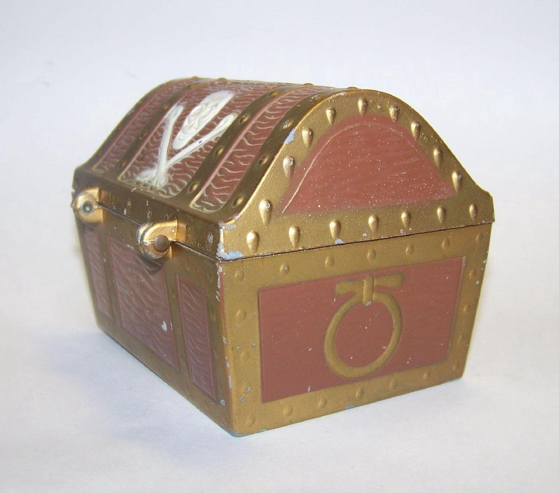 Vintage E.J. Kahn Company Metal Still Coin Bank - 6