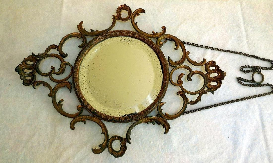 Early Gilt French-Style Wall Mirror