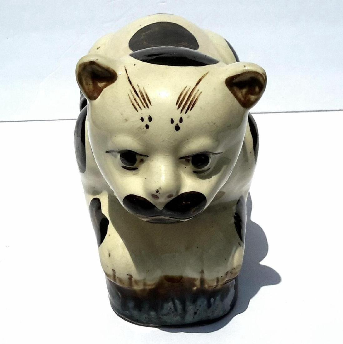 19th Century Chinese Porcelain Cat Form Pillow - 3