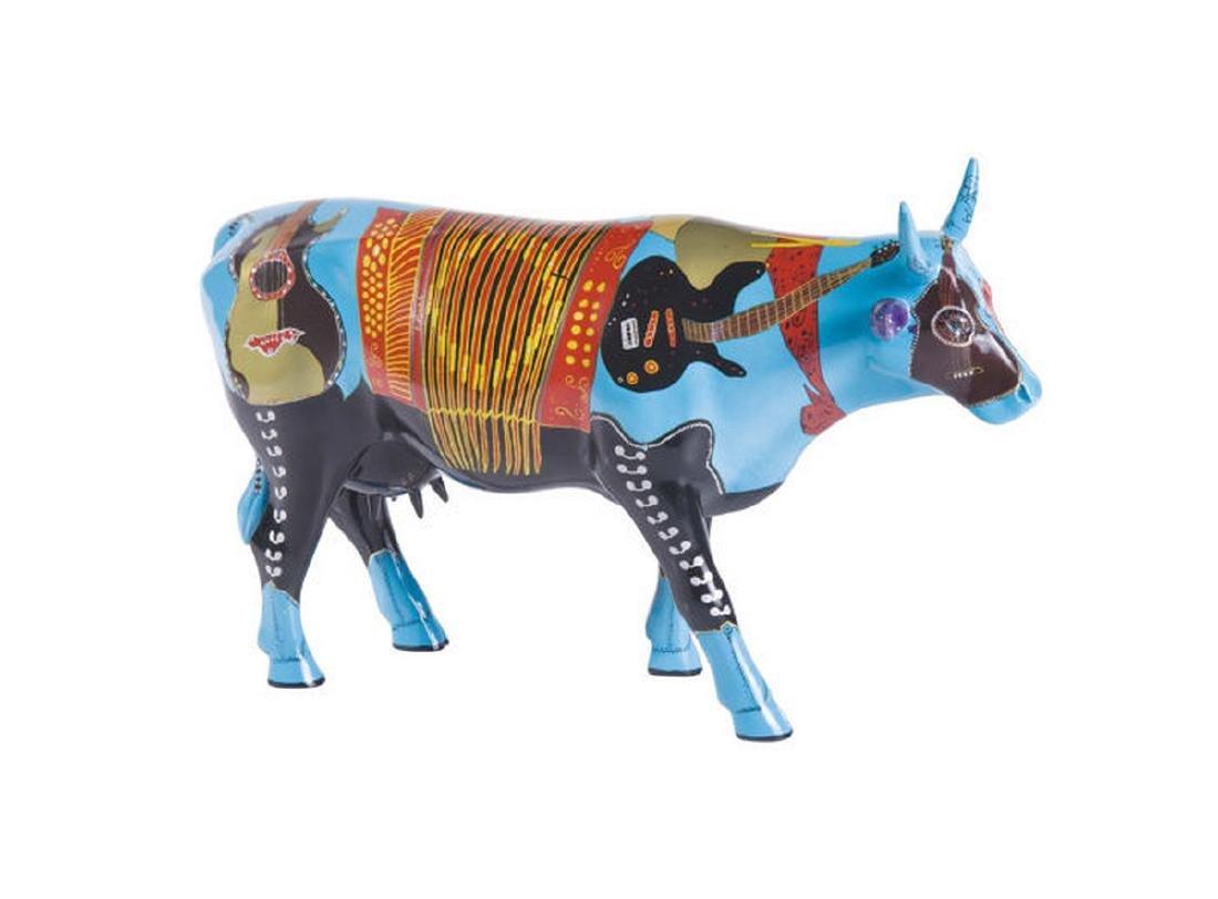 CowParade: CowJunto Music Cow statue