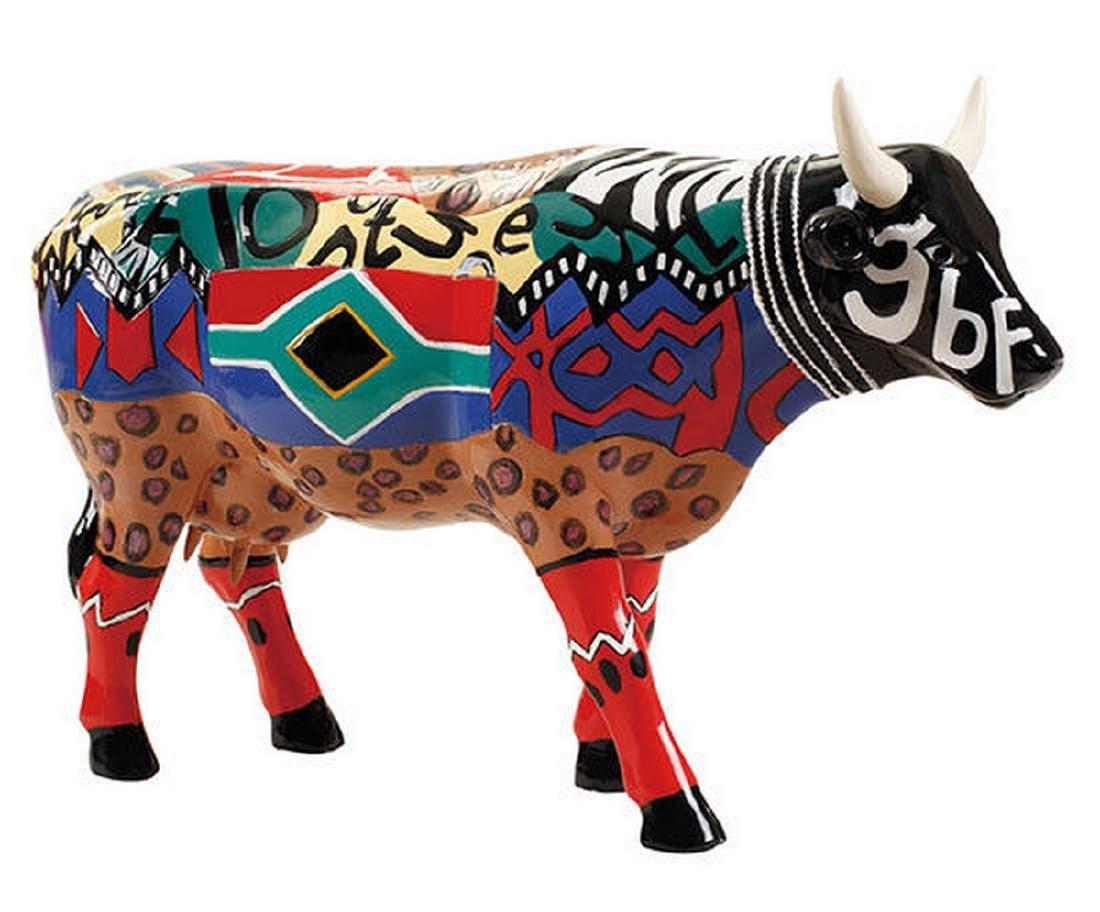 CowParade: Lobola Cow statue