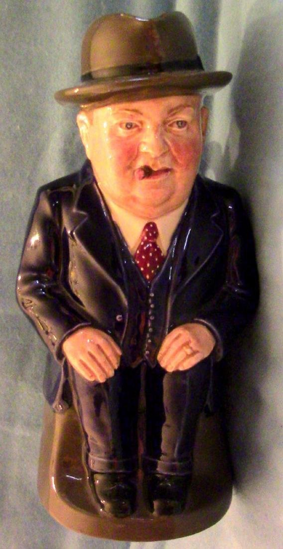 "Royal Doulton ""Cliff Cornell"" Toby Jug - Limited"