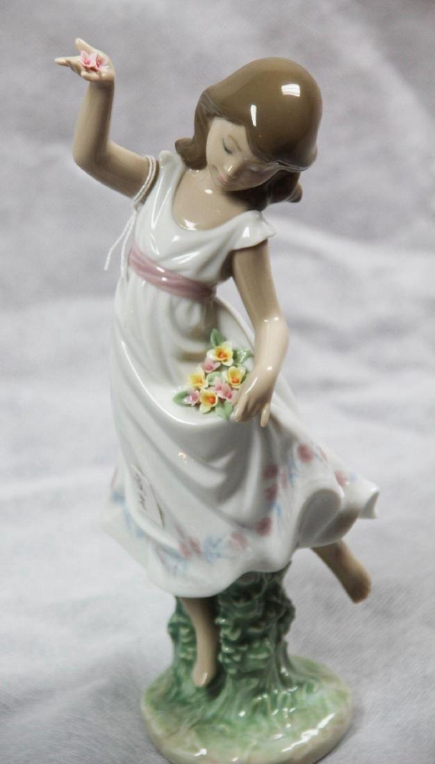 "LLadro #6580 - ""Garden Dance"" Glazed with box."