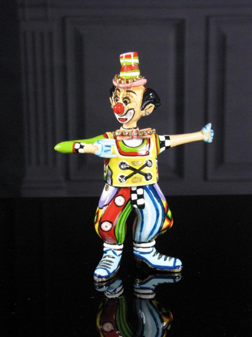 After Thomas Hoffmann: Clown Max small statue