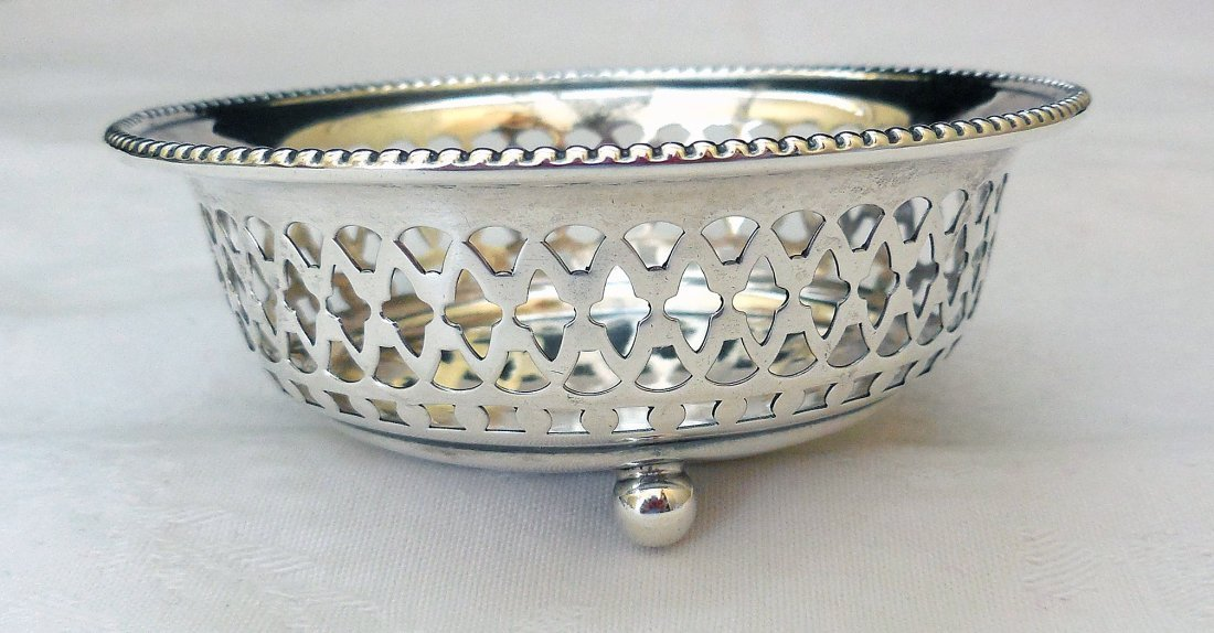 Sterling Silver Footed Candy Dish