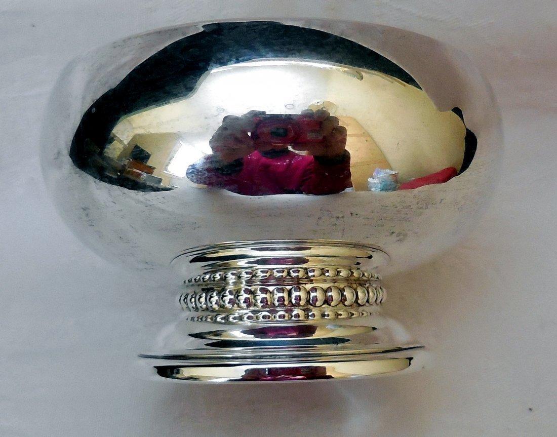 Sterling Silver Bowl on Pedestal - 2