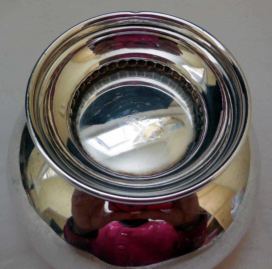 Sterling Silver Bowl on Pedestal - 4