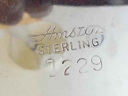 Sterling Silver Bowl on Pedestal - 5