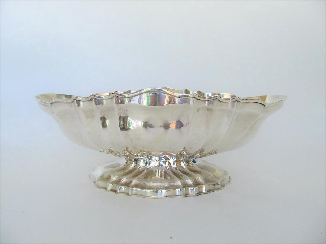 Osterero Italian Silverplate Centerpiece bowl