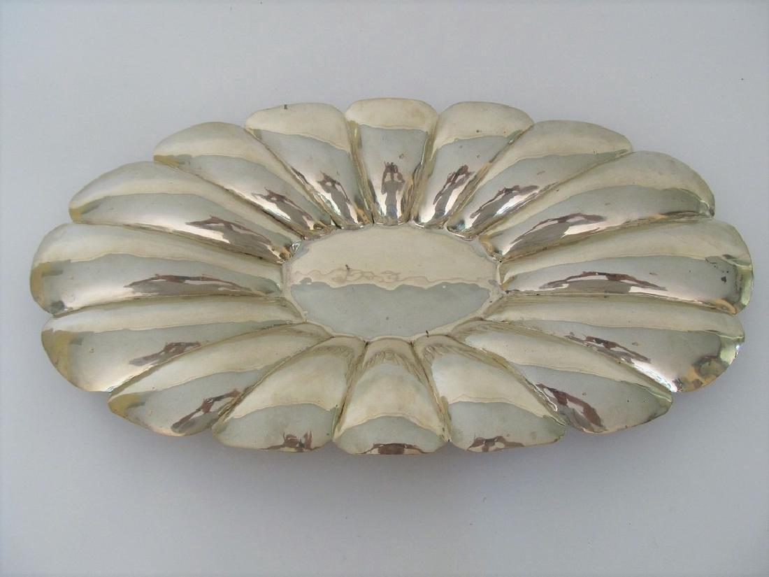 L. Maciel Mexican Sterling Silver Centerpiece Bowl