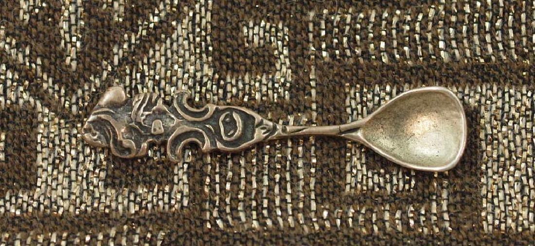 Vintage Nice teaspoon in silver 800