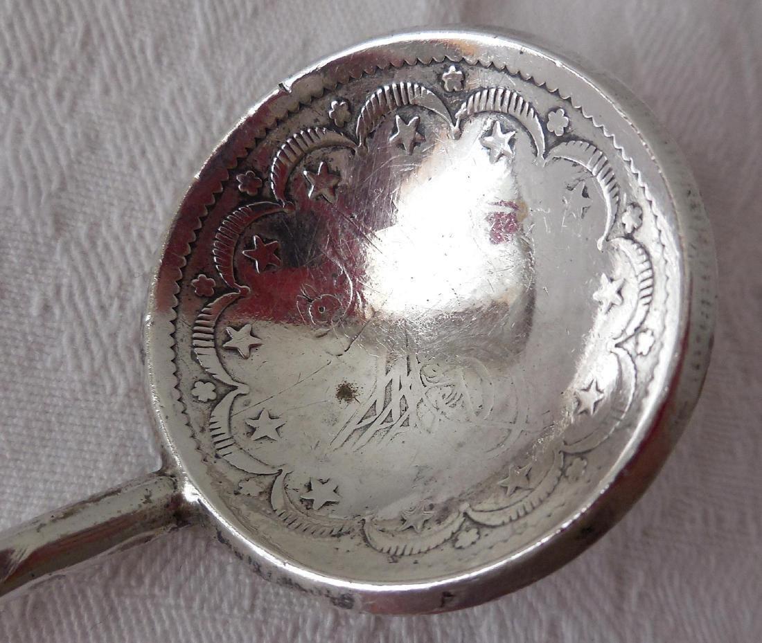Early Ottoman 800 Silver Tea Spoon - 5