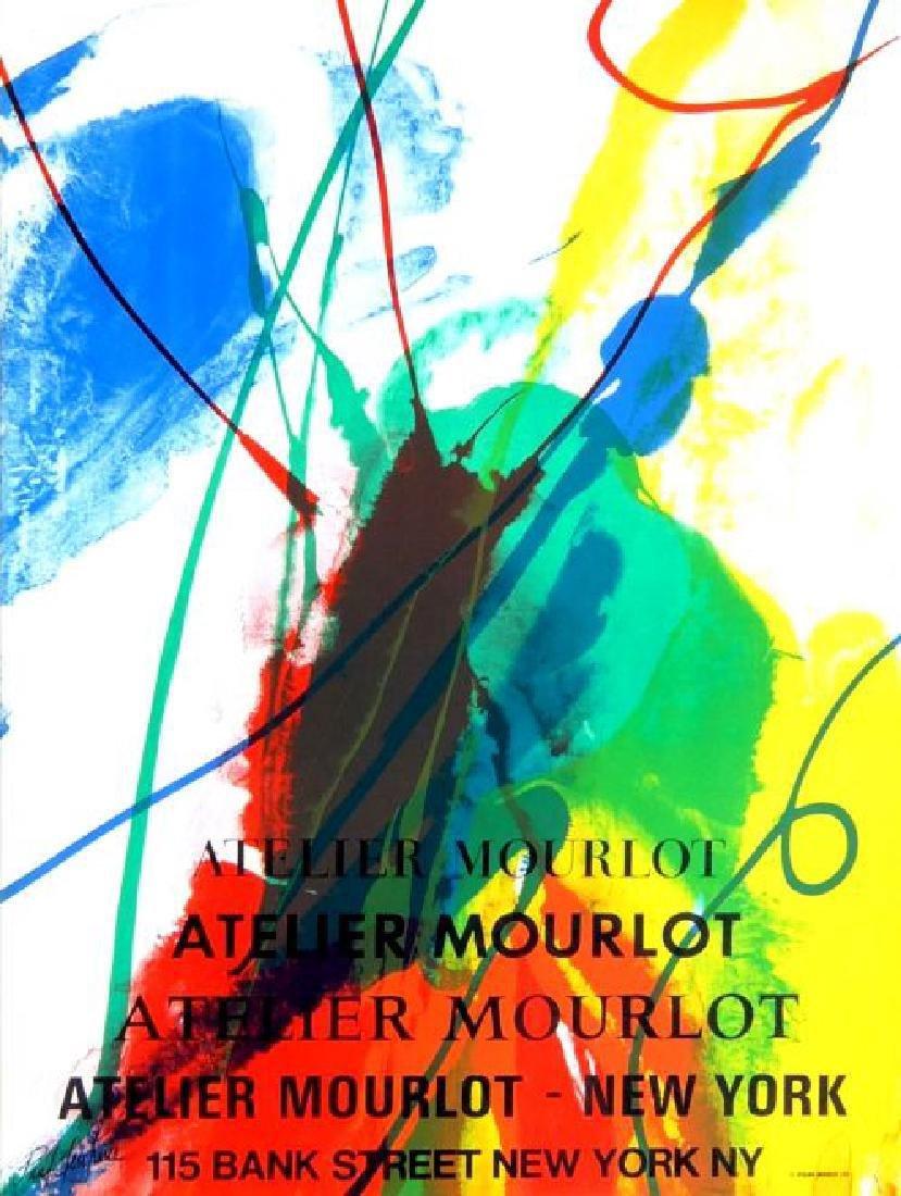 Paul Jenkins Mourlot, New York Poster