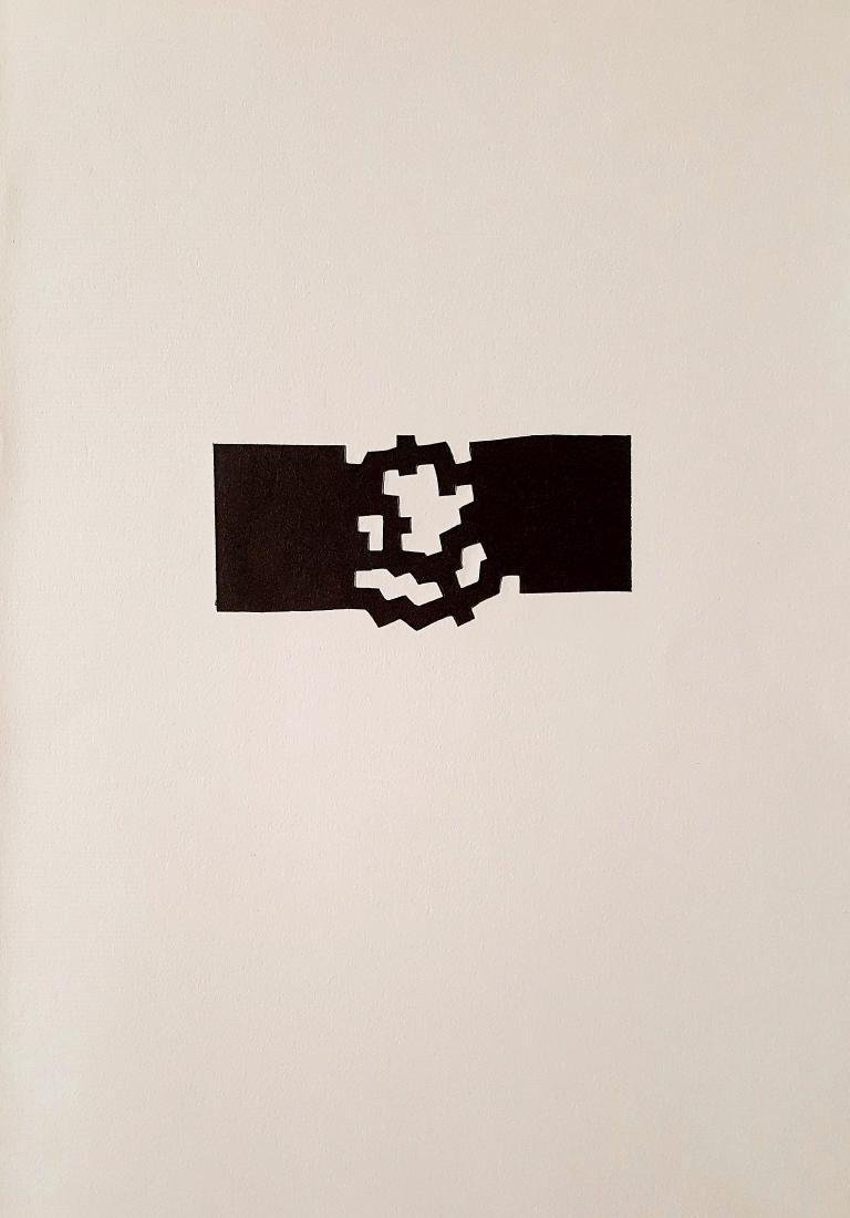Eduardo Chillida Untitled Lithograph - 2