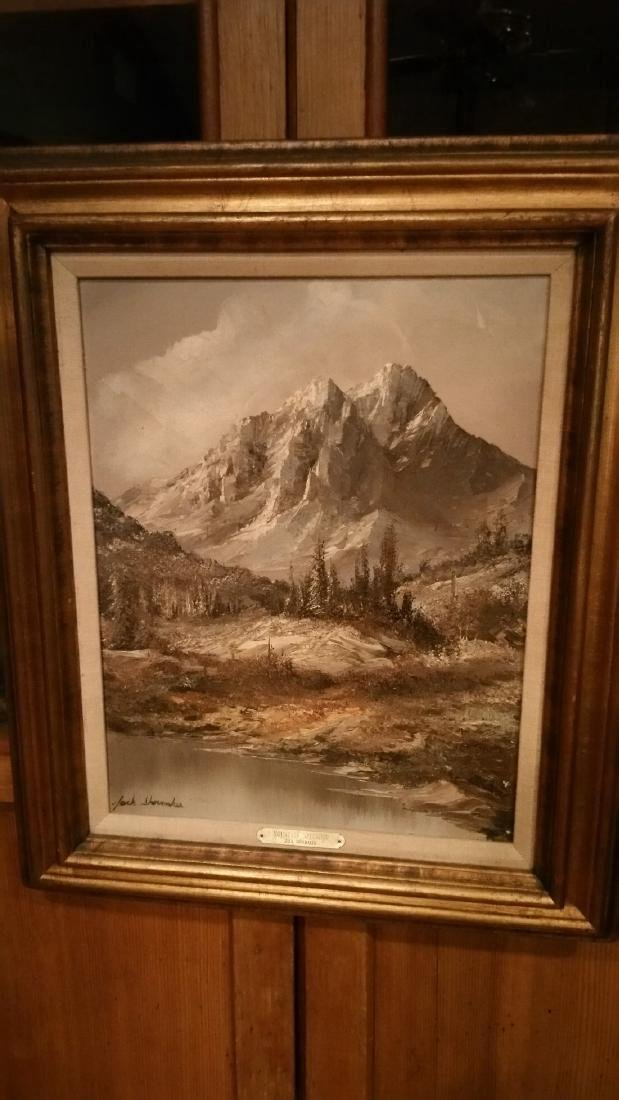 Mountain Splendor Jack Shoemaker Oil on Canvas