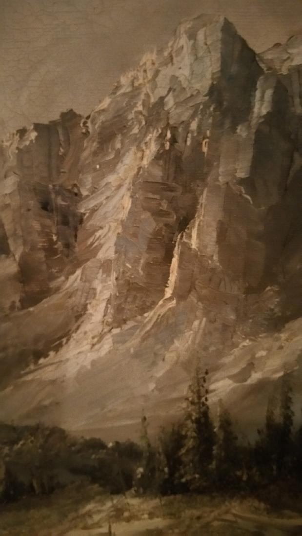 Mountain Splendor Jack Shoemaker Oil on Canvas - 2
