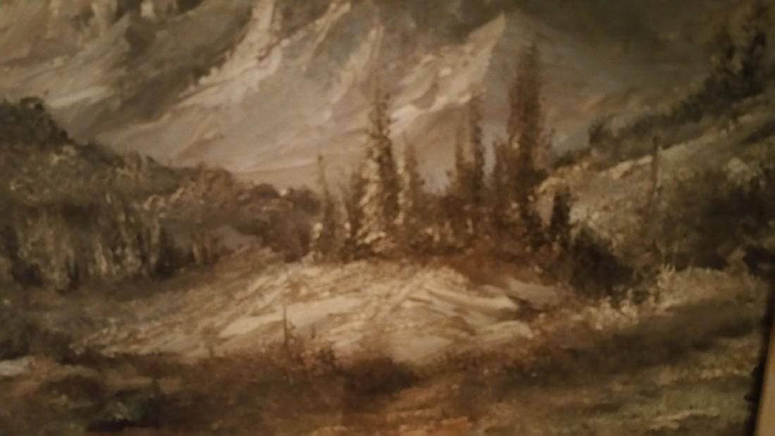 Mountain Splendor Jack Shoemaker Oil on Canvas - 4