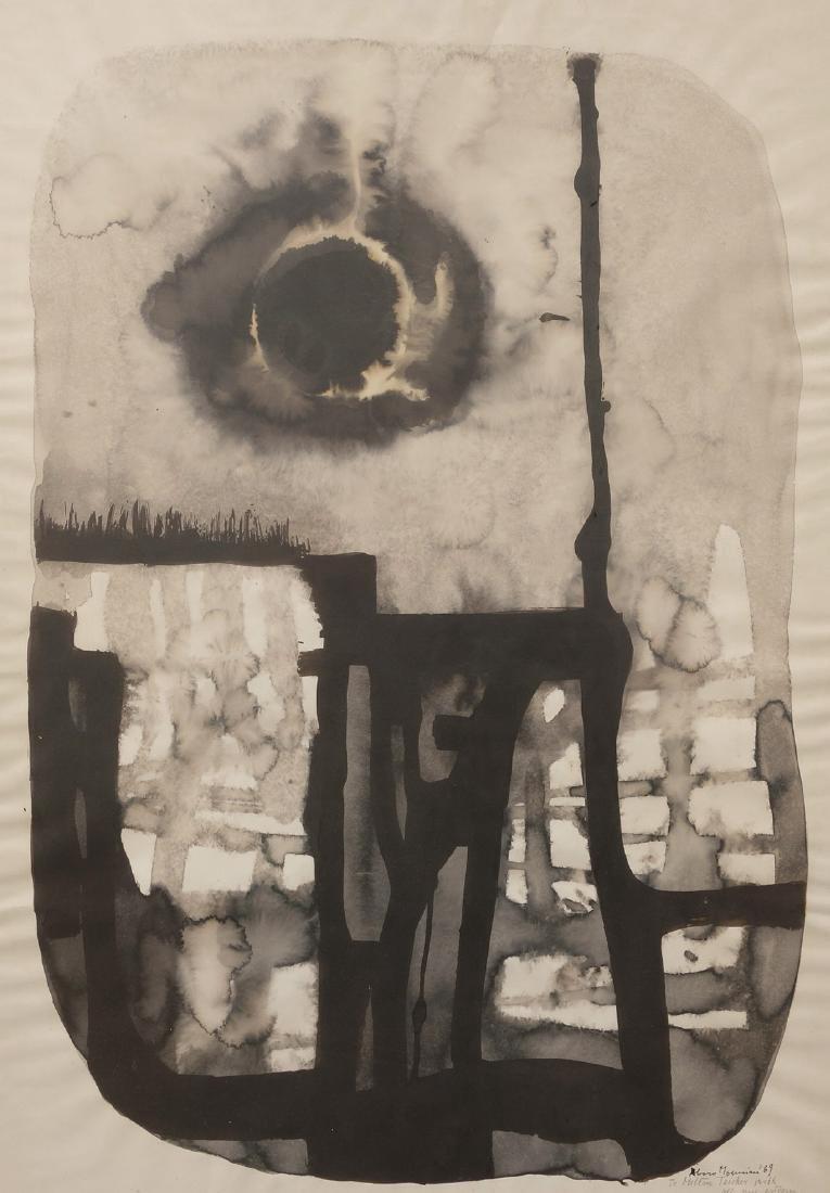 Alvaro Monnini To Milton Teicher Watercolor & Tempera