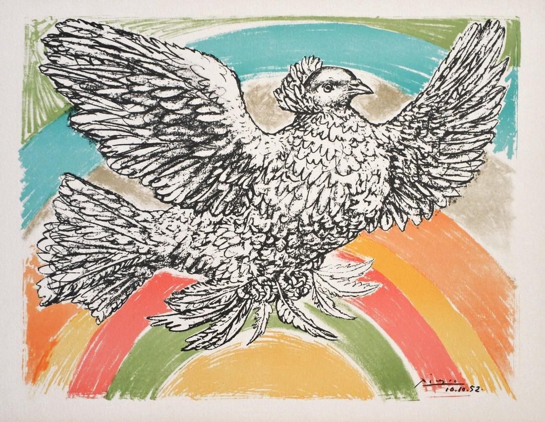 Pablo Picasso Petite Colombe Lithograph