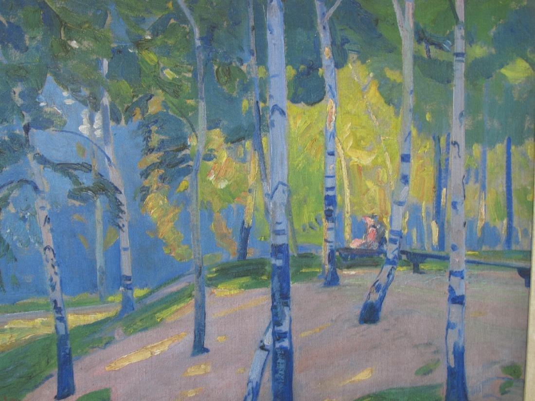 Henry George Keller Landscape Oil on Canvas - 2