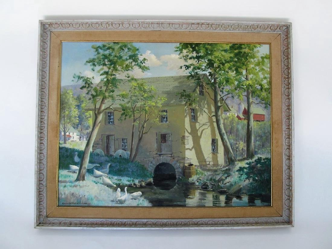 Edna Palmer Engelhardt Old Mill on Mosconetcong River