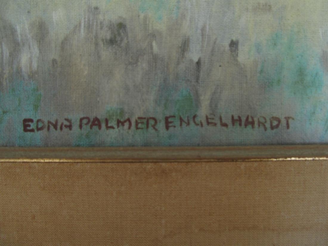 Edna Palmer Engelhardt Old Mill on Mosconetcong River - 2