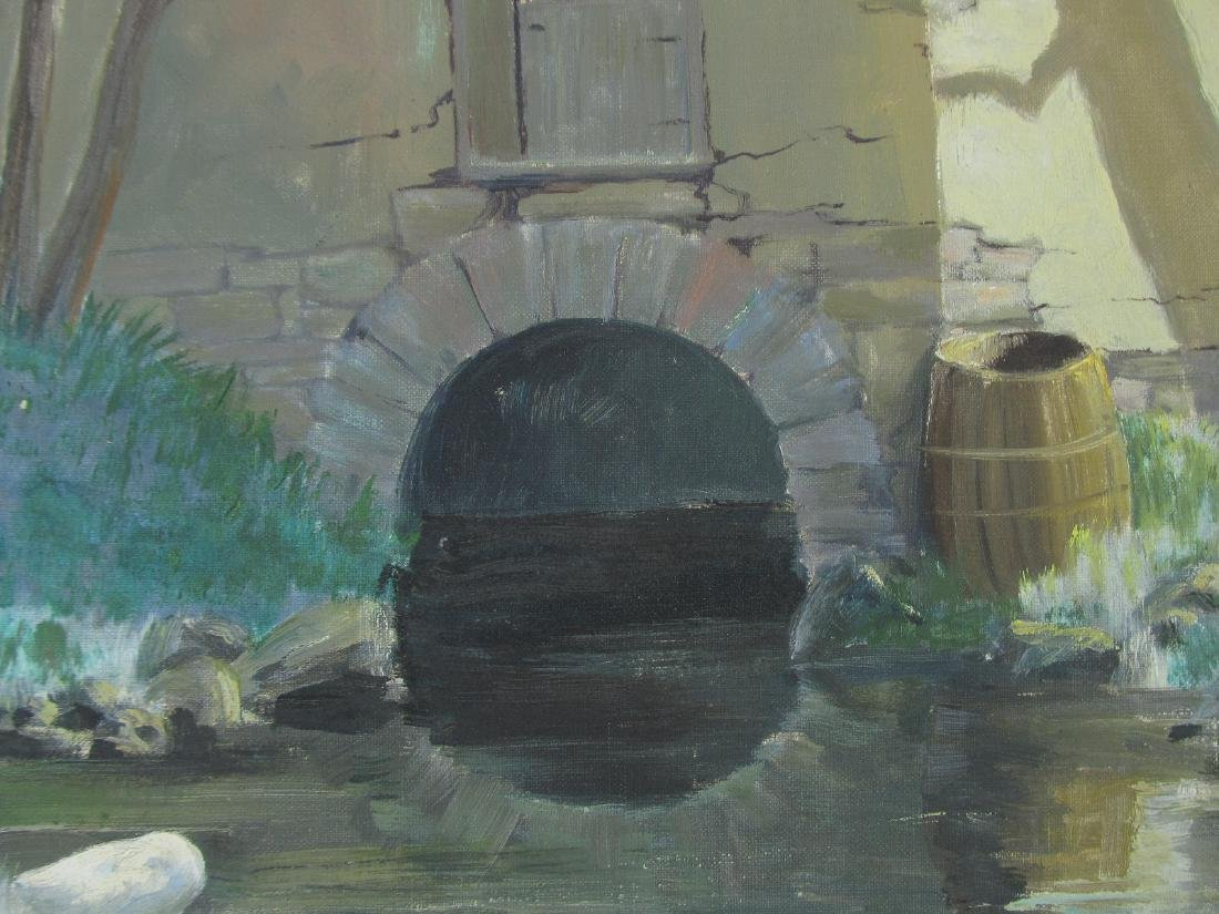Edna Palmer Engelhardt Old Mill on Mosconetcong River - 3