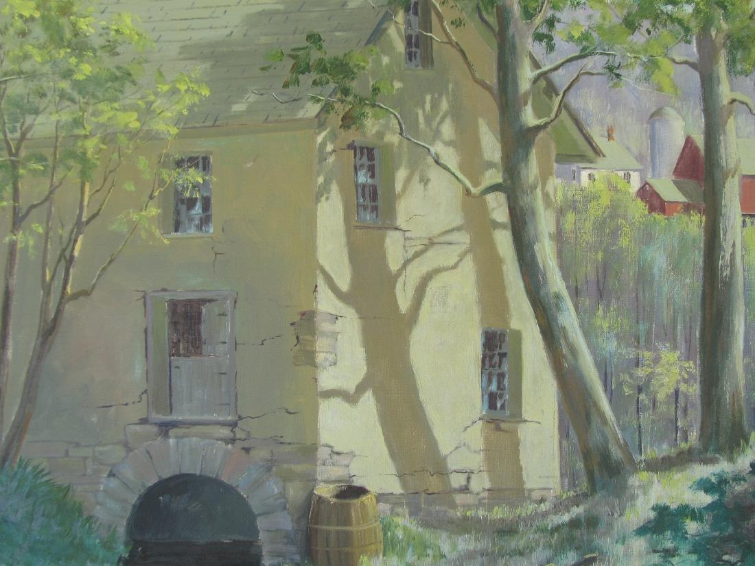 Edna Palmer Engelhardt Old Mill on Mosconetcong River - 4