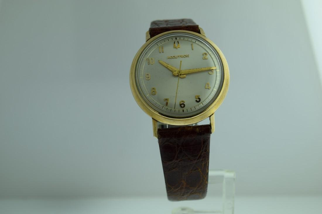 Vintage Accutron Gold Filled Watch, 1963