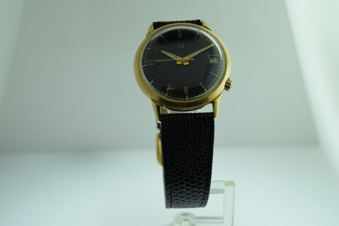 Vintage Accutron 14K Solid Gold Watch, 1976