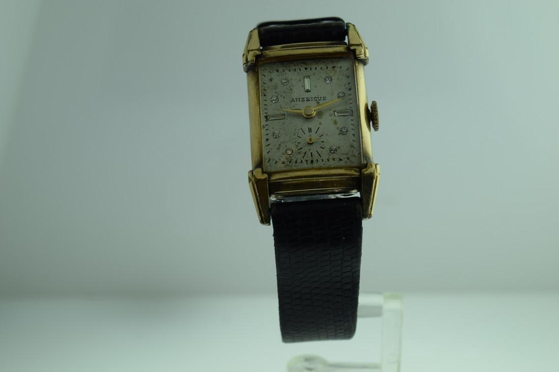 Vintage Americus Diamond Markers Watch, 1940s