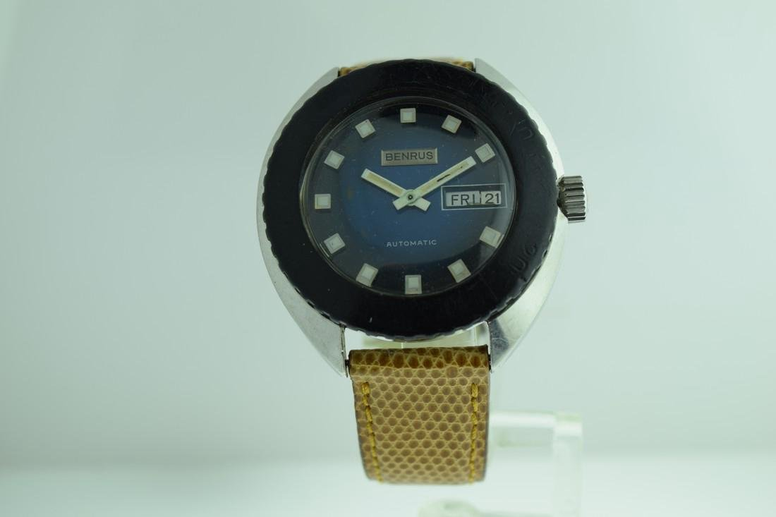 Vintage Benrus Automatic Day/Date Watch, 1970s