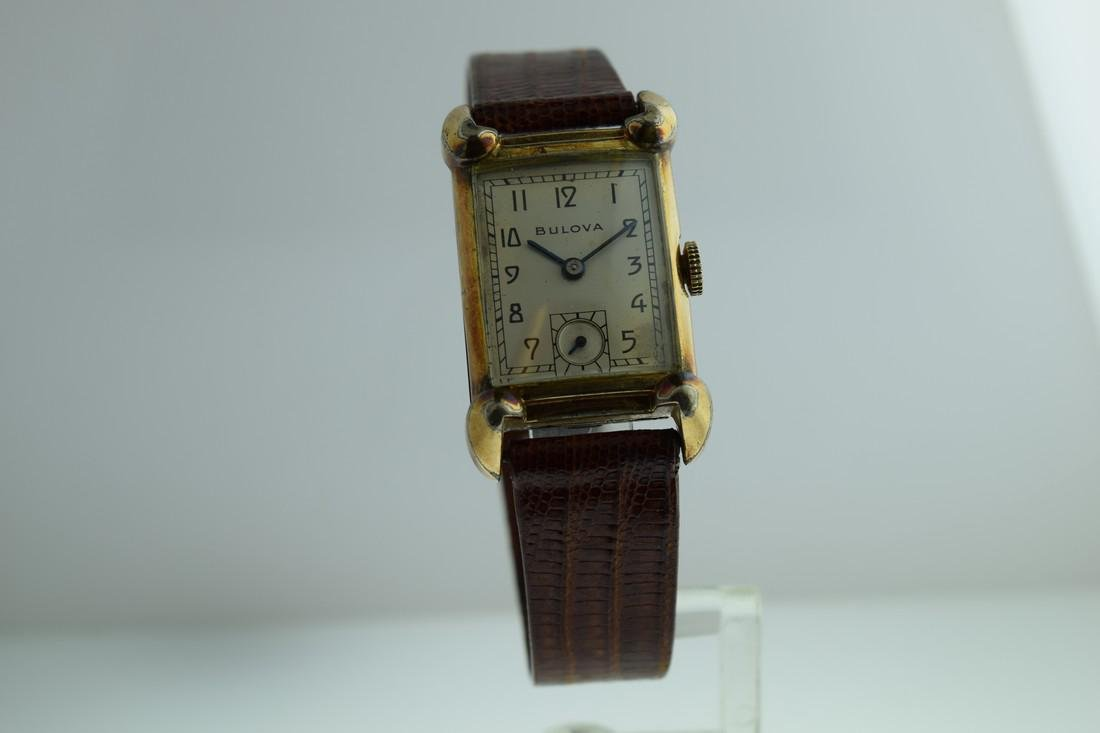 Vintage Bulova Pink Gold Filled Watch, 1940s