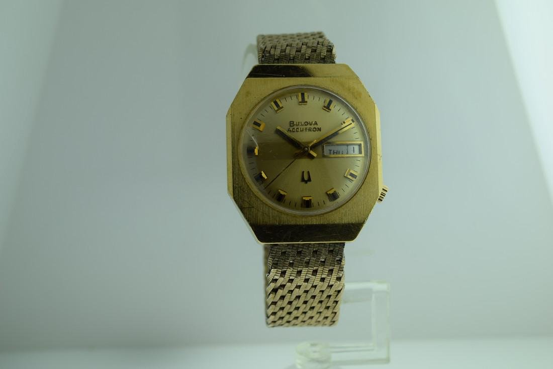 Vintage Bulova Accutron Gold Filled Watch, 1973