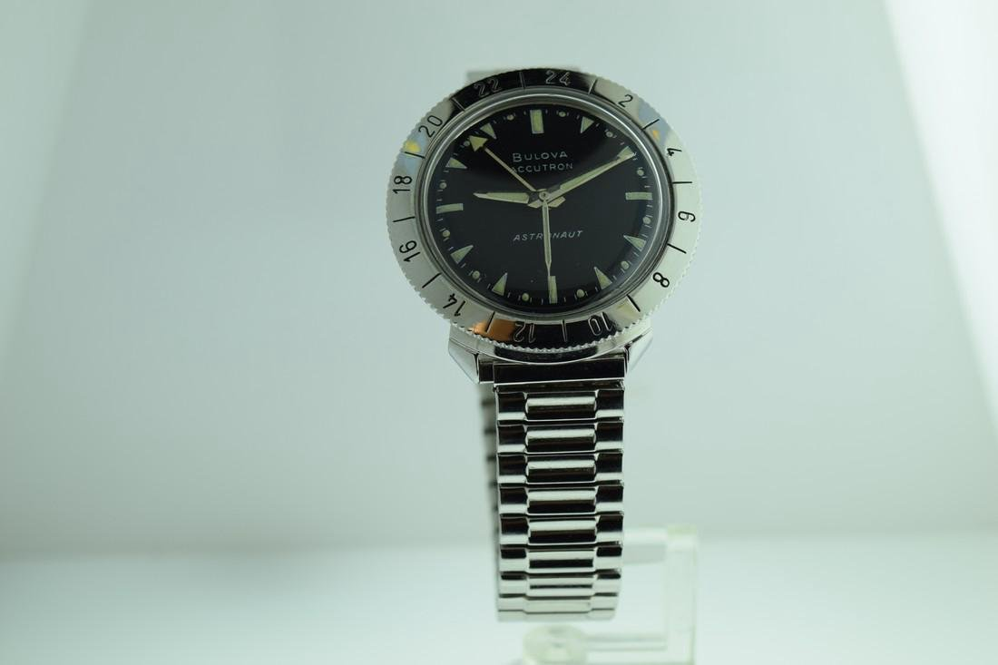Bulova Accutron Astronaut 24 Hour Bezel Watch, 1969
