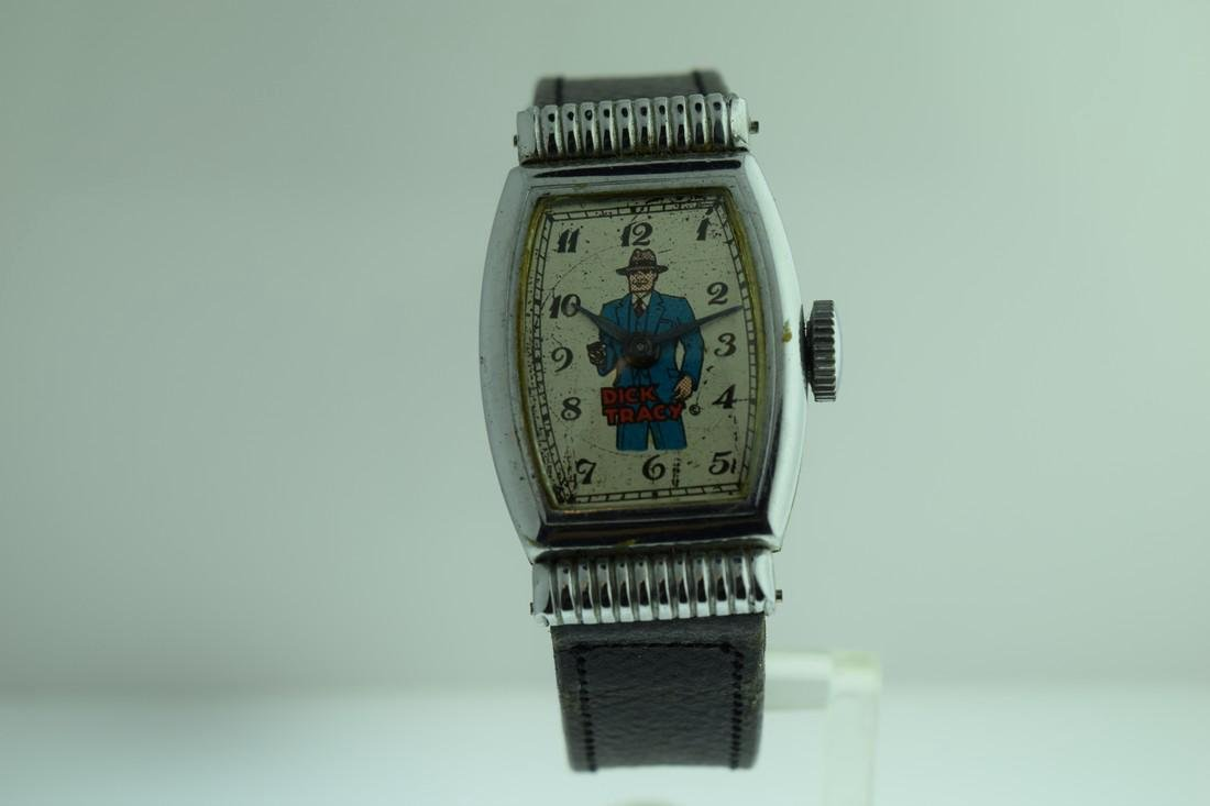 Vintage Dick Tracy Character Watch, 1940s