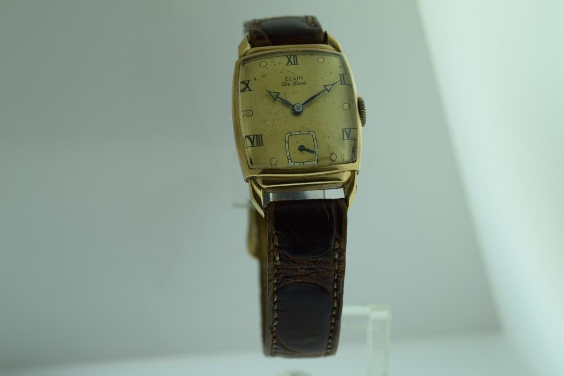 Vintage Elgin de Luxe Gold Filled Watch, 1940s