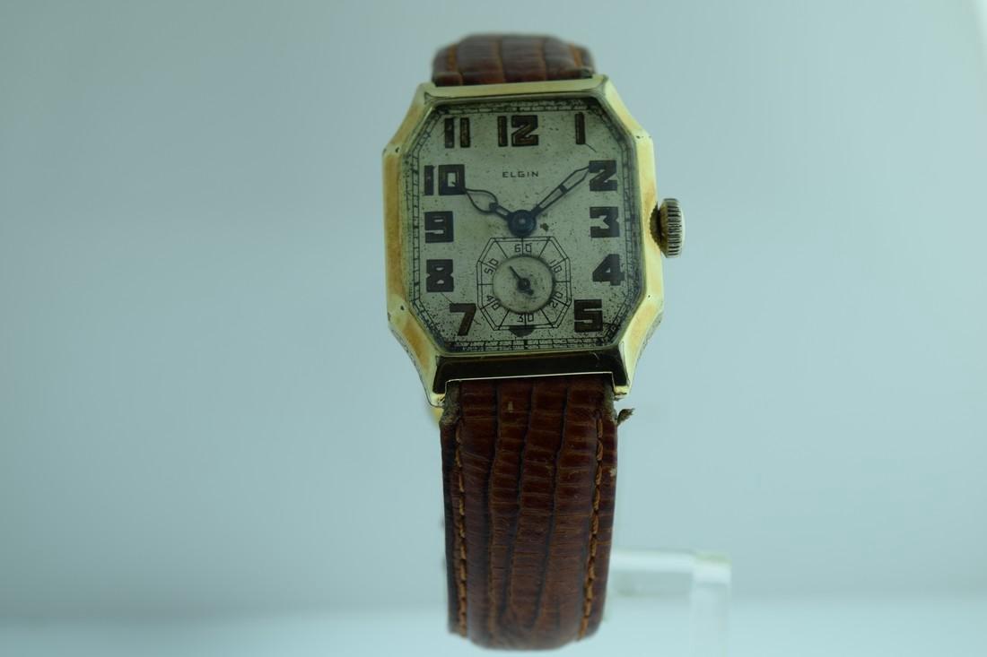 Vintage Elgin Manual Gold Filled Watch, 1920s