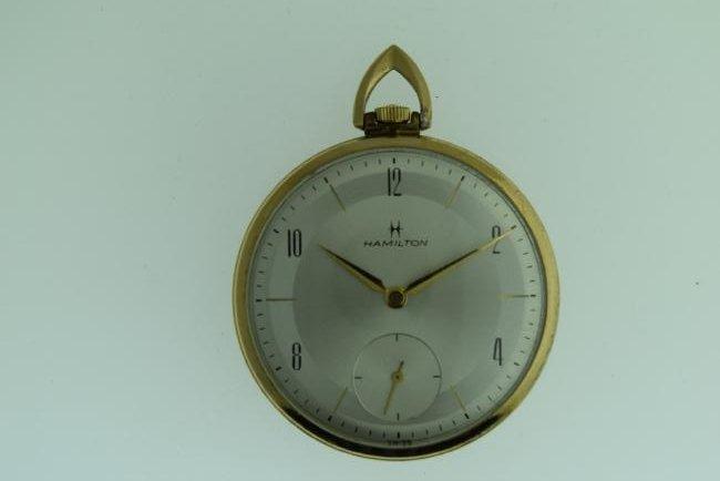 Vintage Hamilton 10K RGP Pocketwatch, 1920s