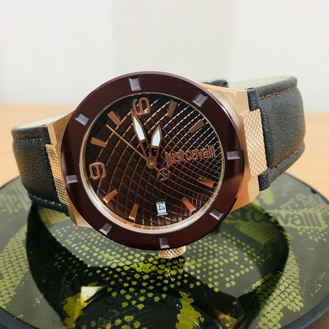 Just Cavalli – Ladies Gold Plated Designer Wrist Watch