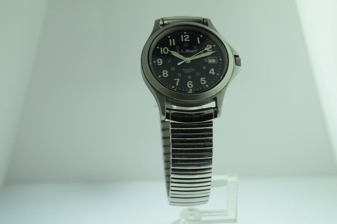 LL Bean 24 Hour Military Dial Watch