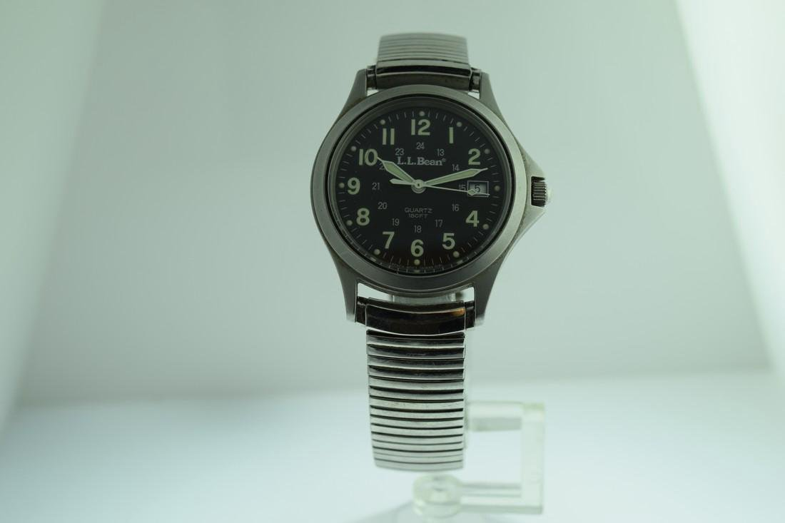 LL Bean 24 Hour Military Dial Watch - 2