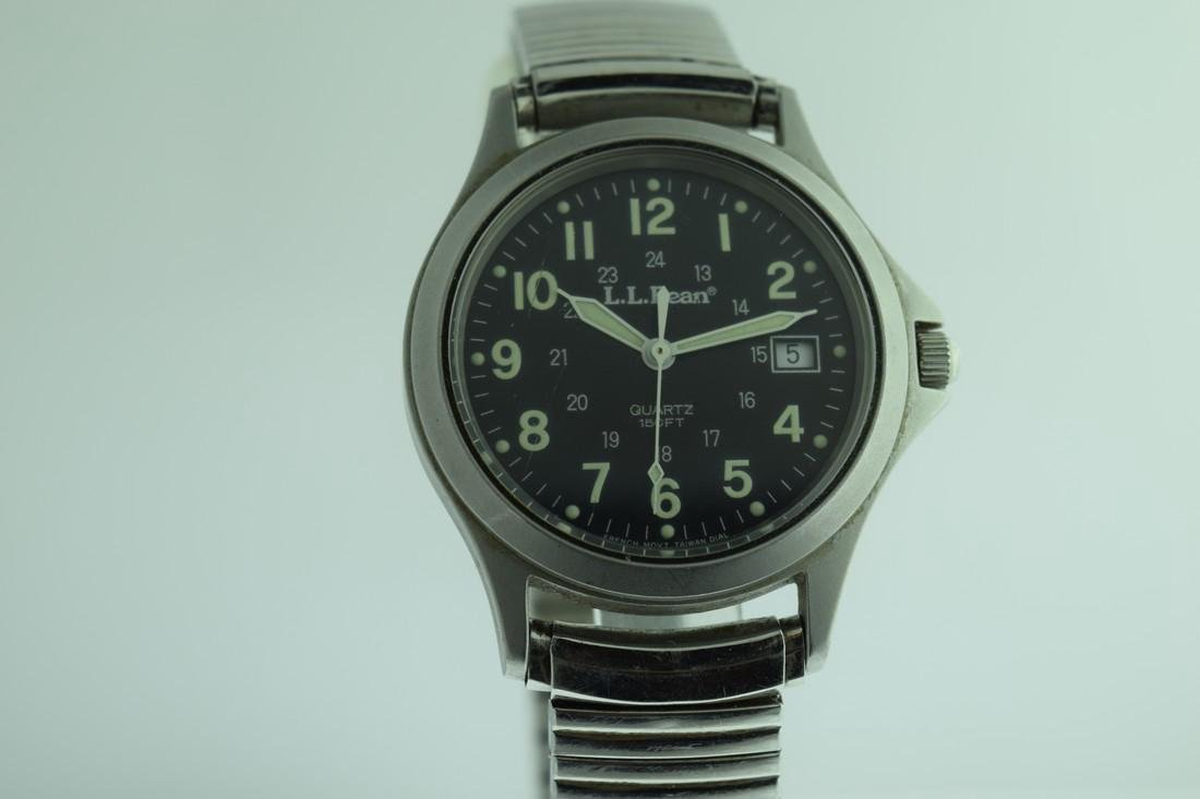 LL Bean 24 Hour Military Dial Watch - 5