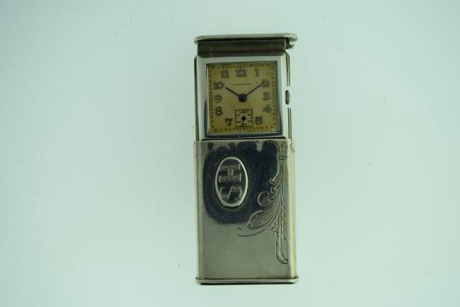 Vintage Longines Sterling Silver Purse Watch, 1930s